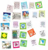 25 different Estonia (after 1991) packet